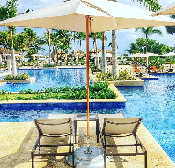 Where your biggest decision is where to sit by the pool #hyattzilararosehall
