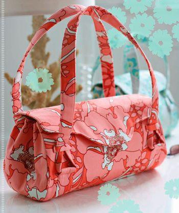 Free bag pattern!Shoulder Bags, Free Pattern, Bags Tutorials, Mama Sewing Sewing, Sewing Pattern, Pur Pattern, Totes Bags, Handbags Pattern, Amy Butler