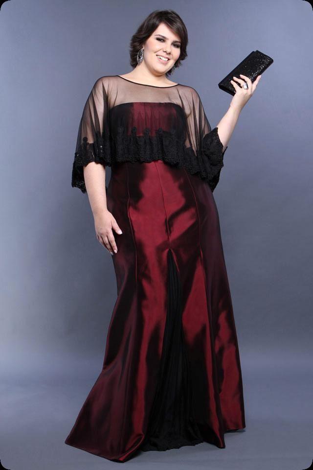 Vestidos de festa Plus Size cheia de estilo, glamour e luxo!