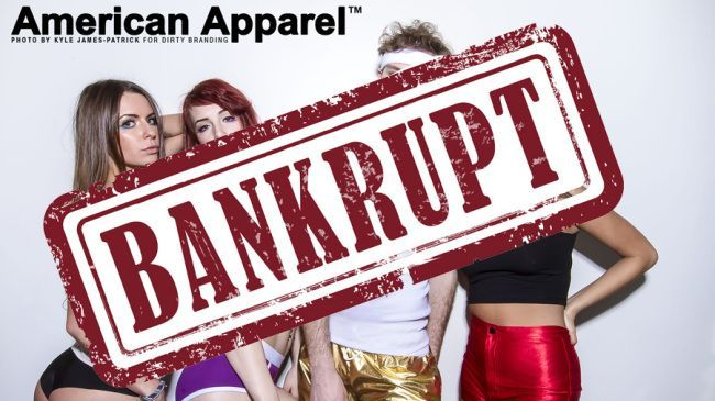 American Apparel was brought down by internal strife and external debt