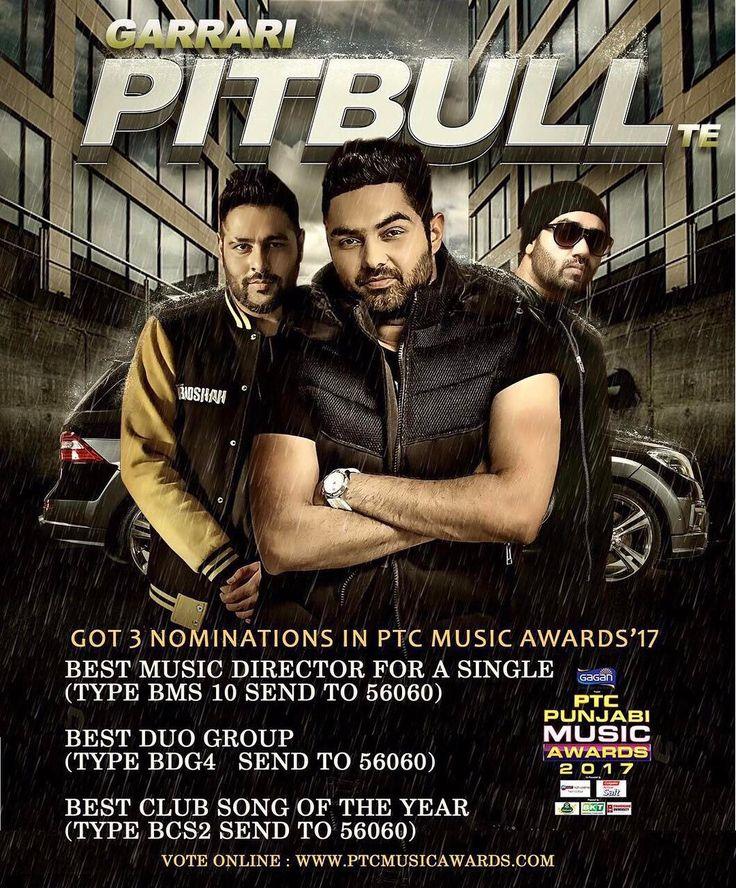 Lao ji, tuhade pyar karke aagiyan 3 nominations for Garaari Pitbull Te. Paado vote hun dabbke. @raigurinder @jslsingh @sonymusic