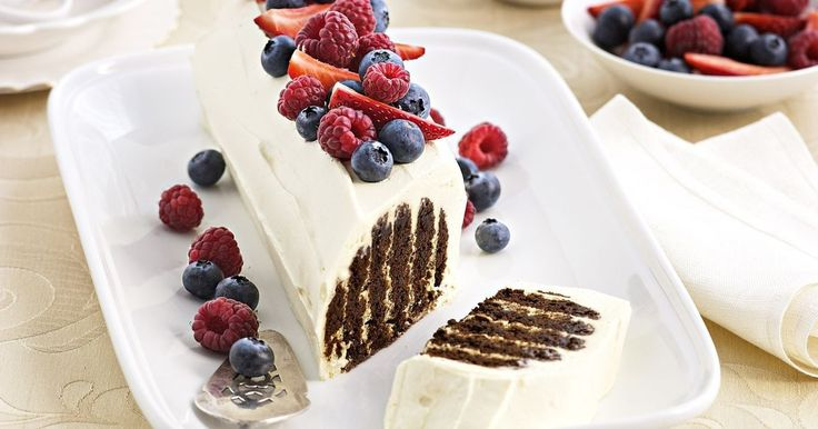 Create an impressive cake without ever turning on the oven. Taste members adore this choc ripple refrigerator cake and for good reason.