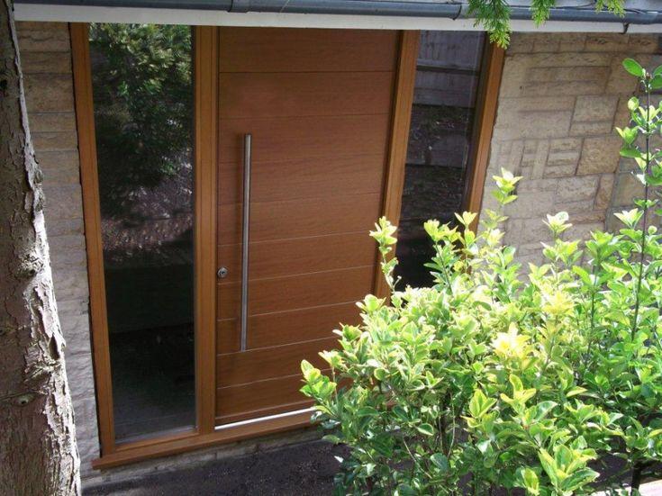 Contemporary Front Door Handles. #doors #frontdoor #entrance #doordesign