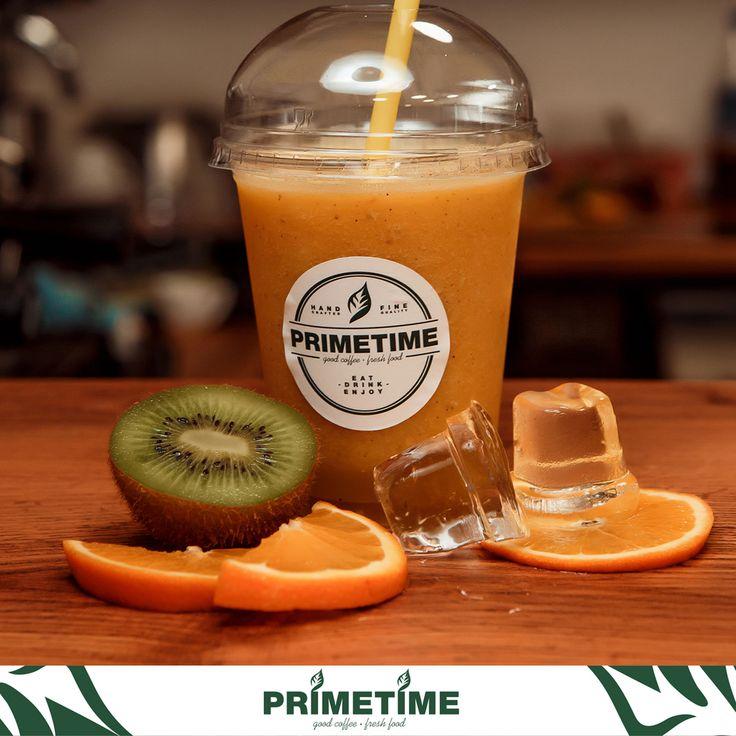 Яркие краски лета + мастерство бариста = освежающе манящий, апельсиновый смузи 🍊😍 Витаминный заряд бодрости на весь день 💪 А вы уже успели попробовать?😋  #primetime #coffee #breakfast #nsk #кофе #кофейня #открытиеprimetime