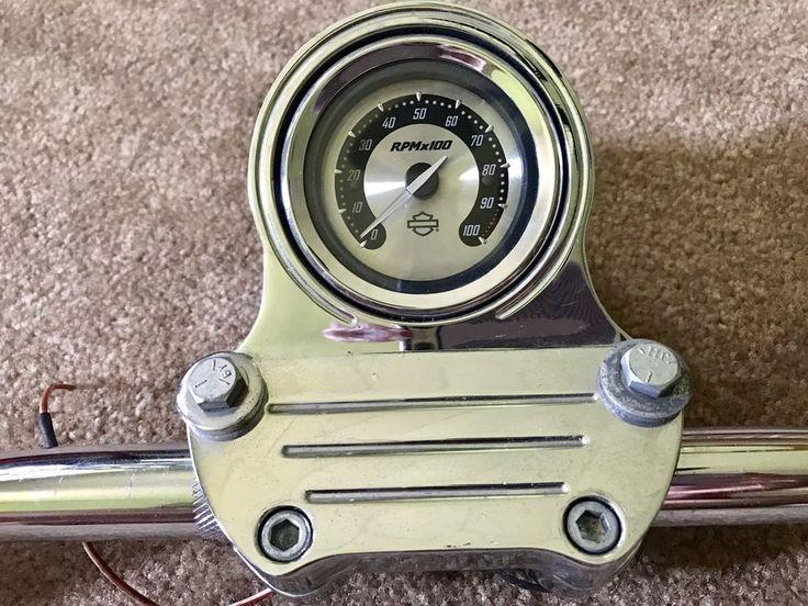 Harley Davidson Handlebars With Tachometer  | eBay