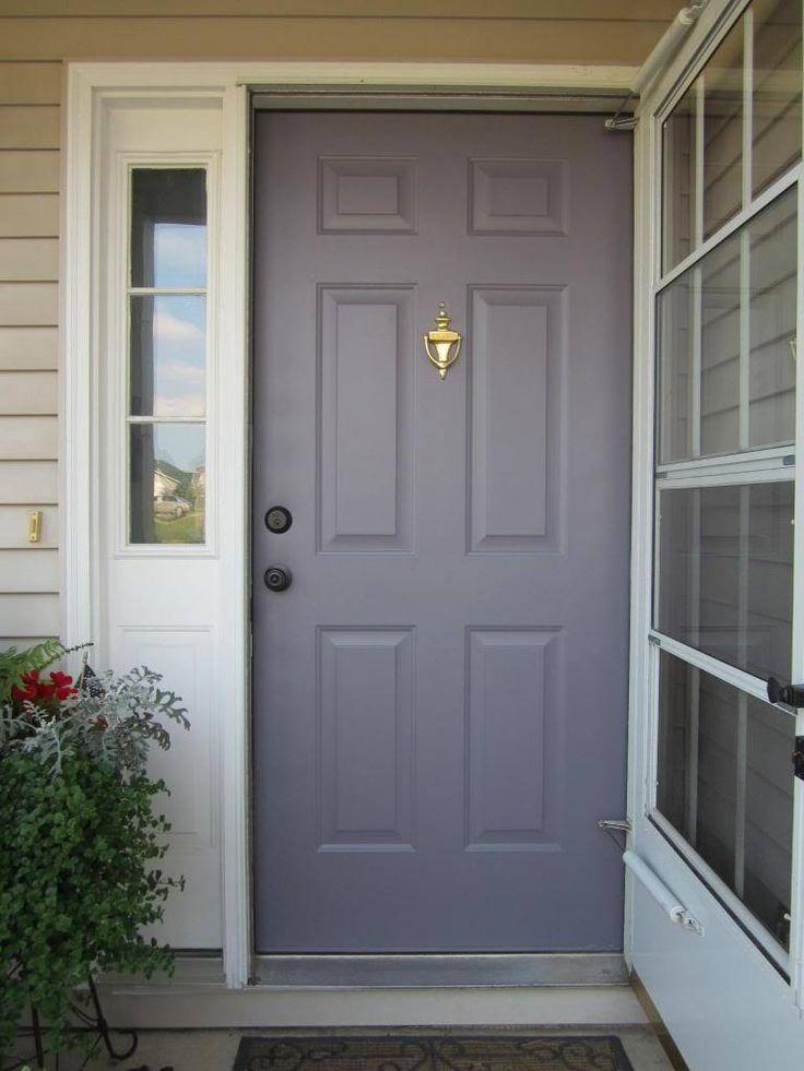 Best 25 purple front doors ideas on pinterest front - Front door color meanings ...