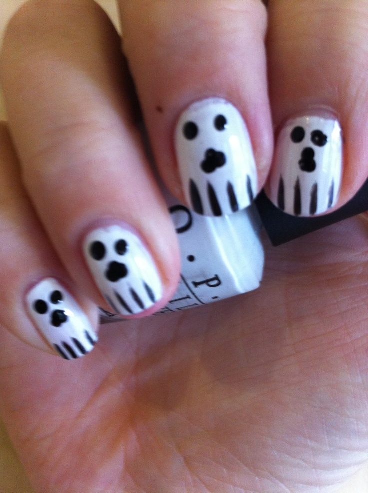 My freestyle Halloween I saw these on swatch and learn and thought I might have a chance at recreating these lol