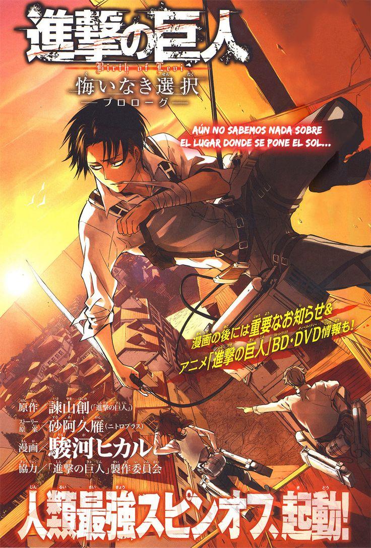 Shingeki No Kyojin: Capitulos de: Shingeki no Kyojin Gaiden: Kuinaki S...