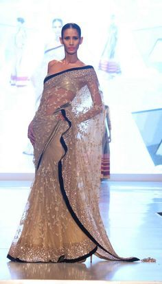 Bronze Saree