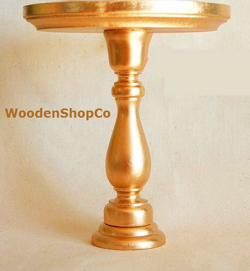 Inexpensive Gold Colored Cake Stand