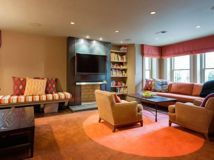 family room basement 141 best family room images on pinterest basement ideas games