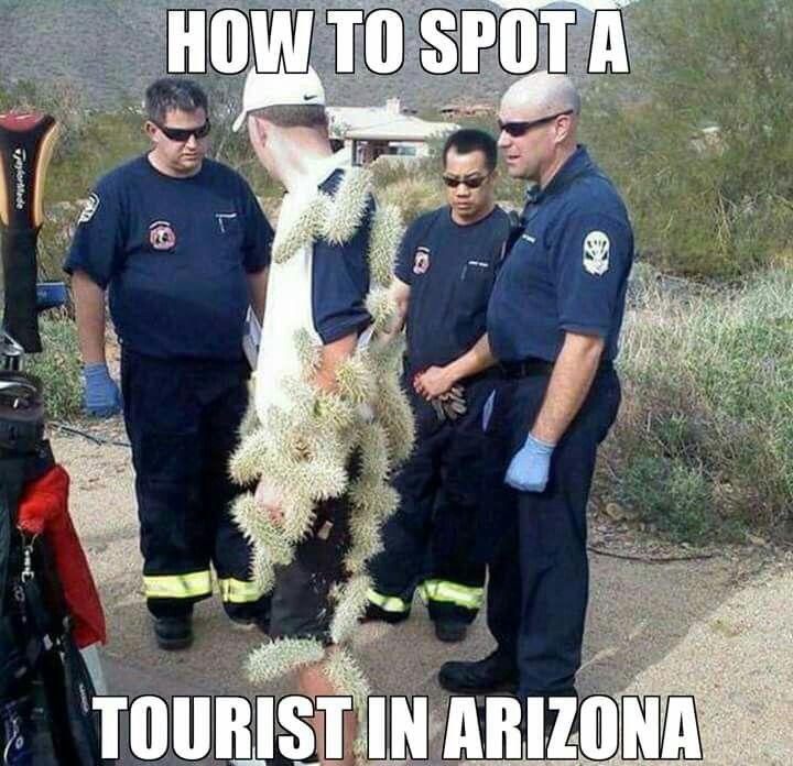 Arizona tourist