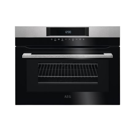 AEG touch control integrated combination microwave