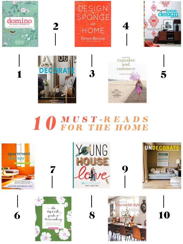 10 Must-Reads For The Home