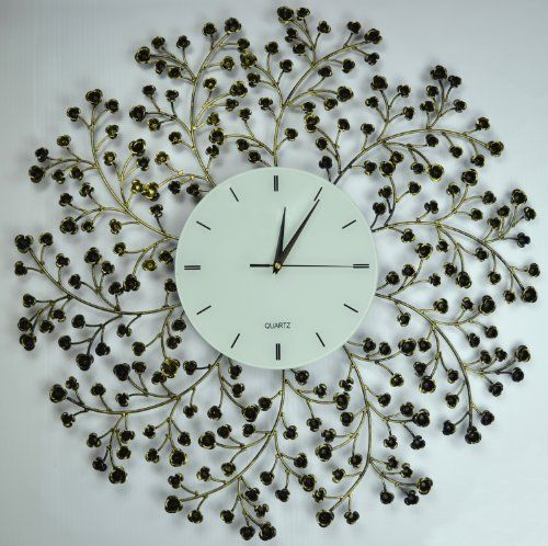 Lulu Decor Black Drop Wall Clock : Images about decorative clocks on modern