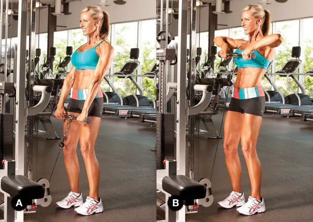 I love these. One of the best shoulder workouts