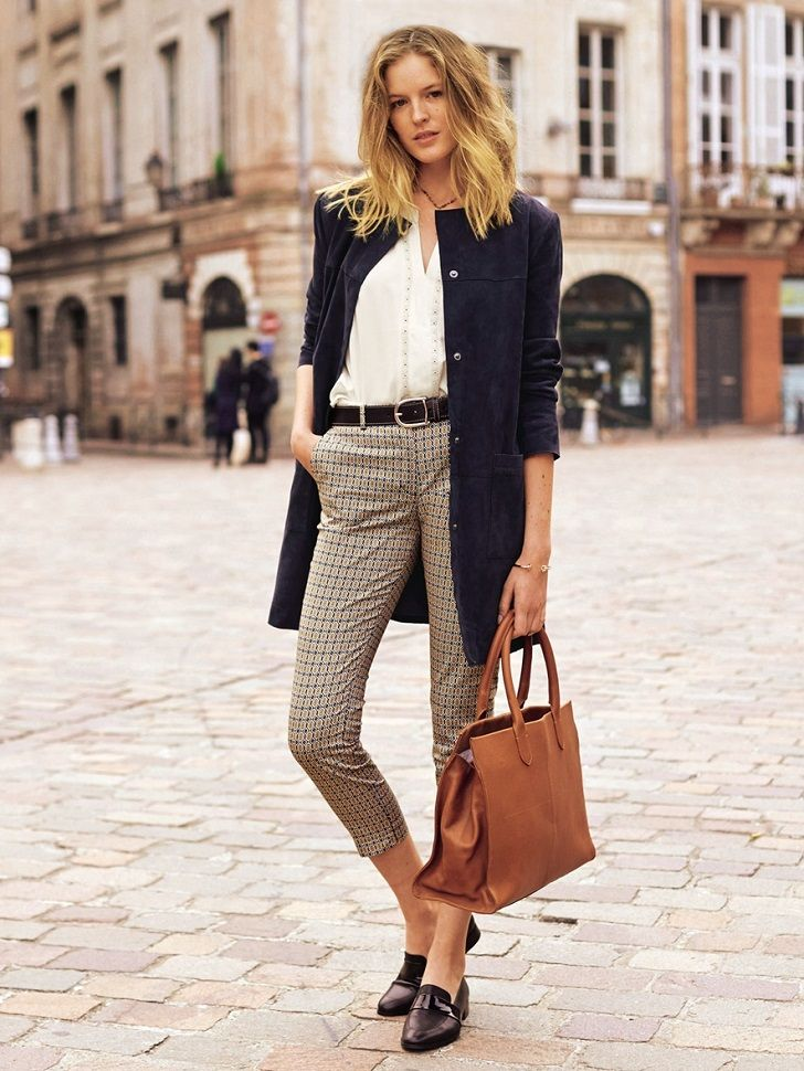 Classic preppy look. Love the effortlessness of this classy business casual, preppy look.