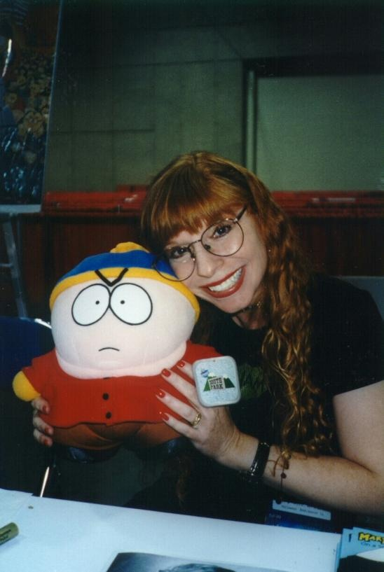 Mary Kay Bergman (1961 – 1999) was an American actress who supplied the voices to many characters from the animated TV series South Park and other major projects. No one knew that she suffered from depression. She was last seen alive on the morning of November 11, 1999. Later that evening her husband returned home to find that she had shot herself in the head with a Mossberg 12-gauge shotgun.