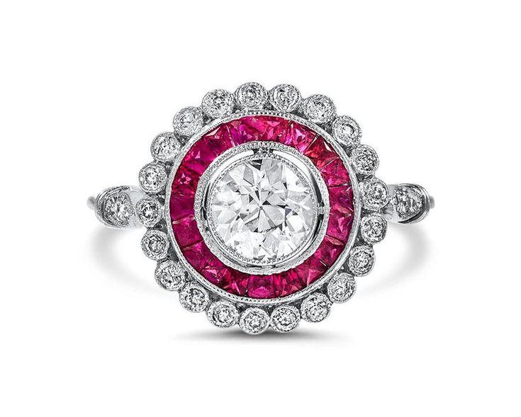 anel-de-noivado-platina-rubi