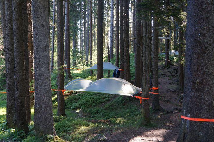 Bericht Tree Tents Pilatus http://wp.me/p2x69e-mdp #Camping #Schweiz #SonstigeZelte #WandernTrekking #HotelsRegionen #ichliebeberge