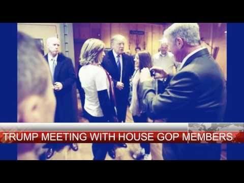 TRUMP MEETING WITH HOUSE GOP MEMBERS HUGE SUCCESS