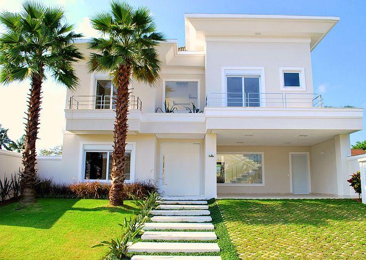20 fachadas de casas com entradas principais modernas e - Entradas de casas modernas ...