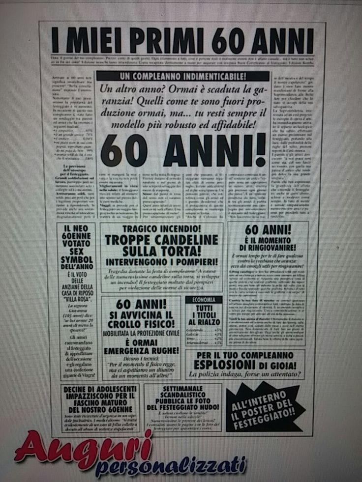 12 Best 30 40 60 ANNI PRODOTTI ARTICOLI REGALO PER FESTE DI COMPLEANNO Images On Pinterest