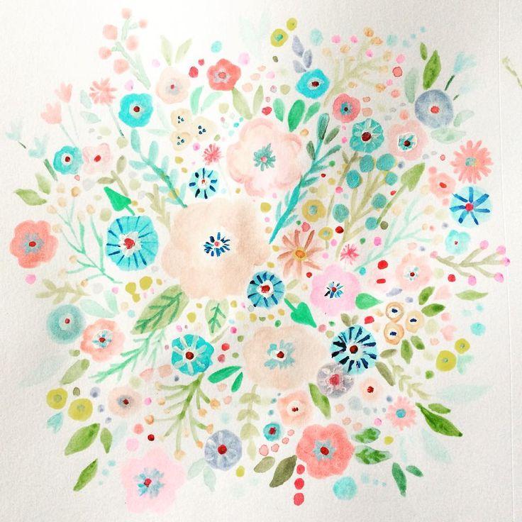 painting #paint #flowers #art #artgram #watercolorflower #watercolor #watercolorpainting #clorgram #clorful #virginia #alexandria #アート #お花 #ペイント #イラスト #水彩画 #水彩 #バージニア州 #海外生活 #絵 #カラフル #パステルカラー