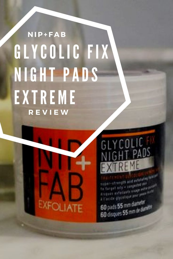 nip+fab glycolic extreme pads review, skincare tips, skincare products, best exfoliating pads, best exfoliating toner, skincare routine, best glycolic toner #skincaretips #skincare #skincareproducts how to exfoliate skin