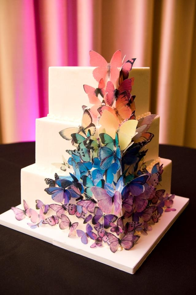 like the style (square) and placement, but too many butterflies..even for me!