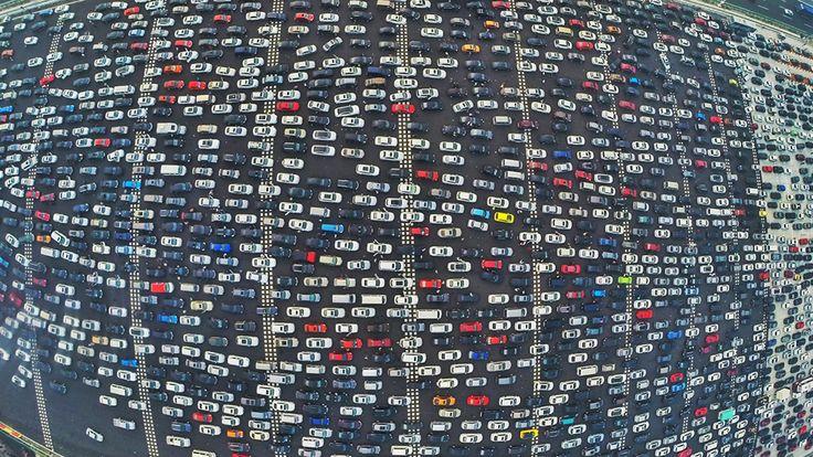 Определены города с самыми большими пробками...