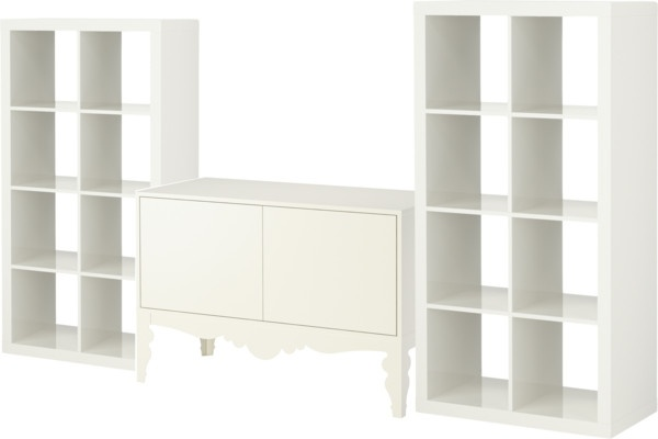 27 best media consoles wall units images on pinterest for Ikea trollsta cabinet