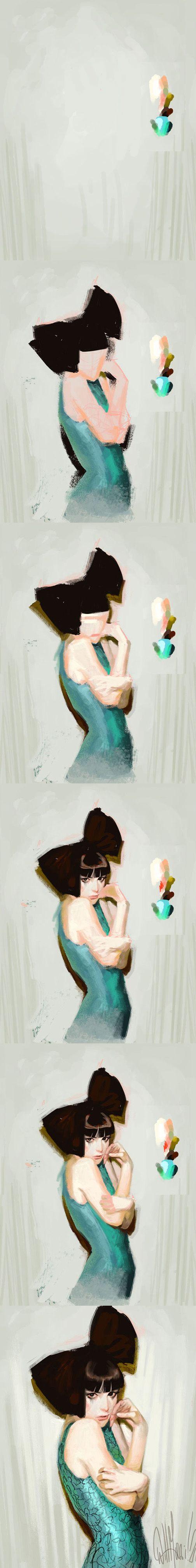 Character Design Digital Painting Tutorial : Best digital painting images on pinterest art
