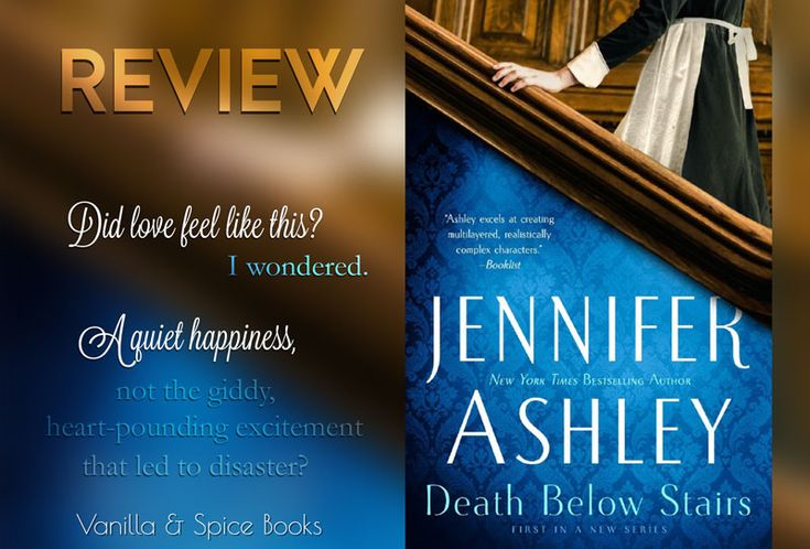 REVIEW: JENNIFER ASHLEY ✮ DEATH BELOW STAIRS  Victorian area historical mystery by Jennifer Ashley. Loved this!