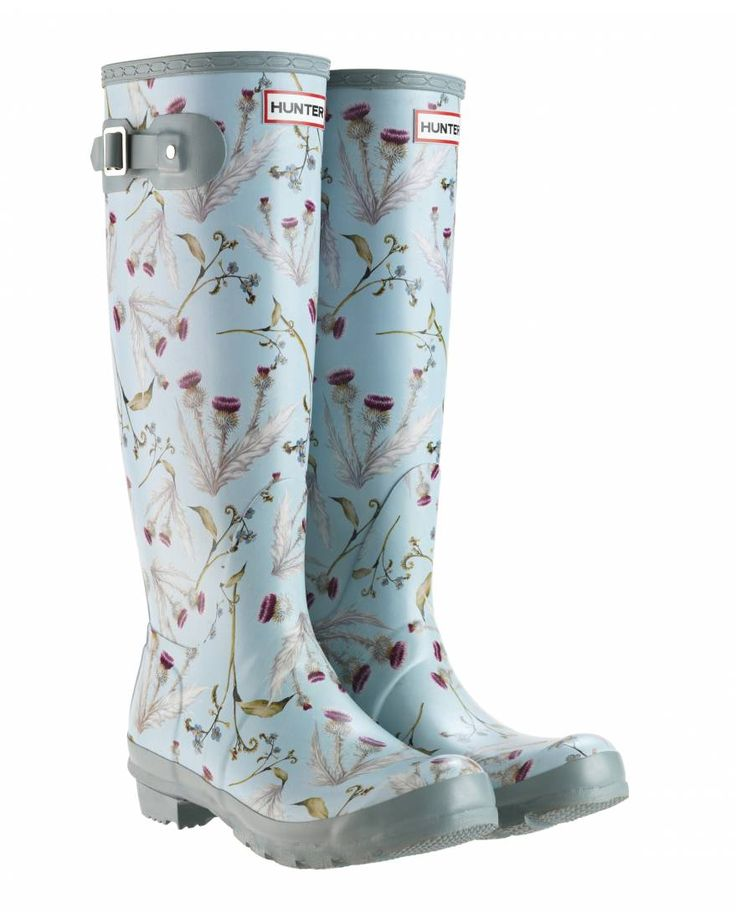 Hunter wellies designed for the Royal Horticultural Society
