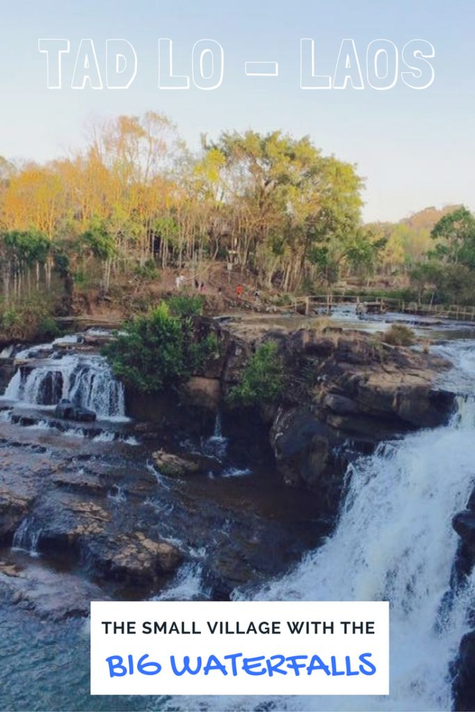 Tad Lo - Laos: The Small Village With the Big Waterfalls www.lifeuntraveled.com