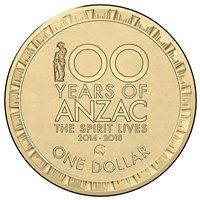 2015 $1 100 Years of of Anzac Map Counterstamp - Google Search
