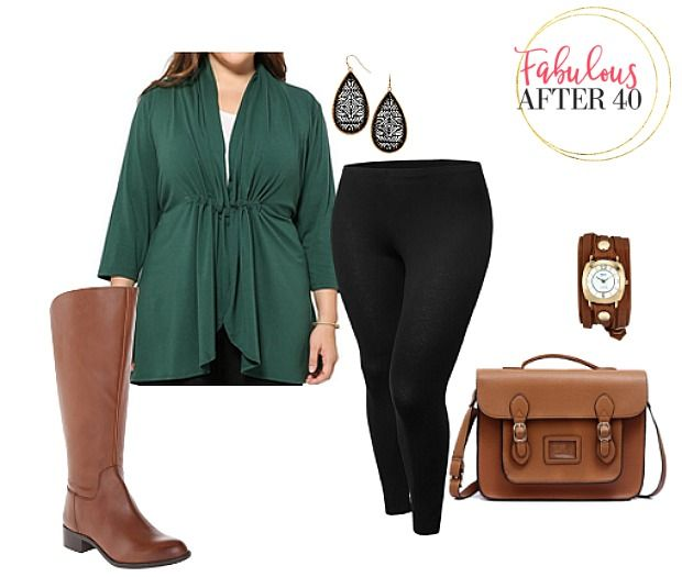 4 ways to work your plus size curves this fall | Fabulous After 40