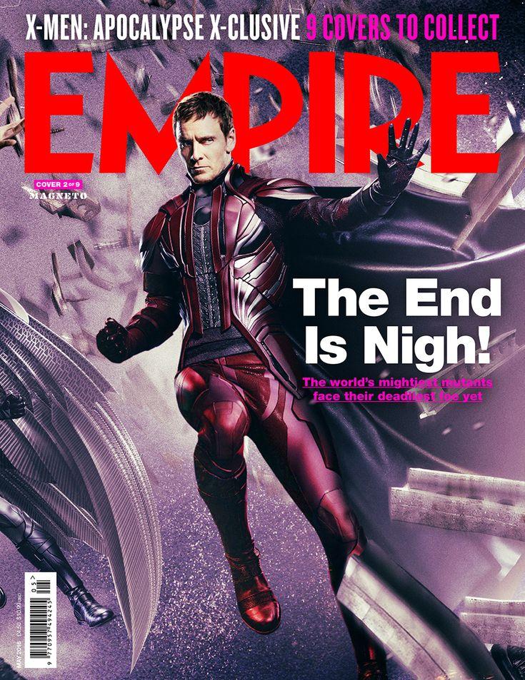 Heroes And Villains Assemble On Nine Epic Interlocking Empire Magazine  Covers For X-MEN: Xmen MoviesMarvel ...