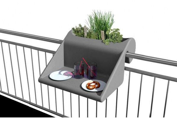 17 best ideas about table de balcon on pinterest meubles pour petit patio - Table accroche balcon ...