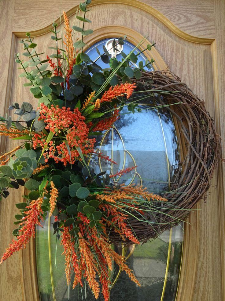 Autumn Wreath Home And Living Elegant Autumn Wreath