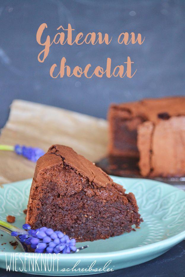 Französicher Schokokuchen - Gâteau au chocolat