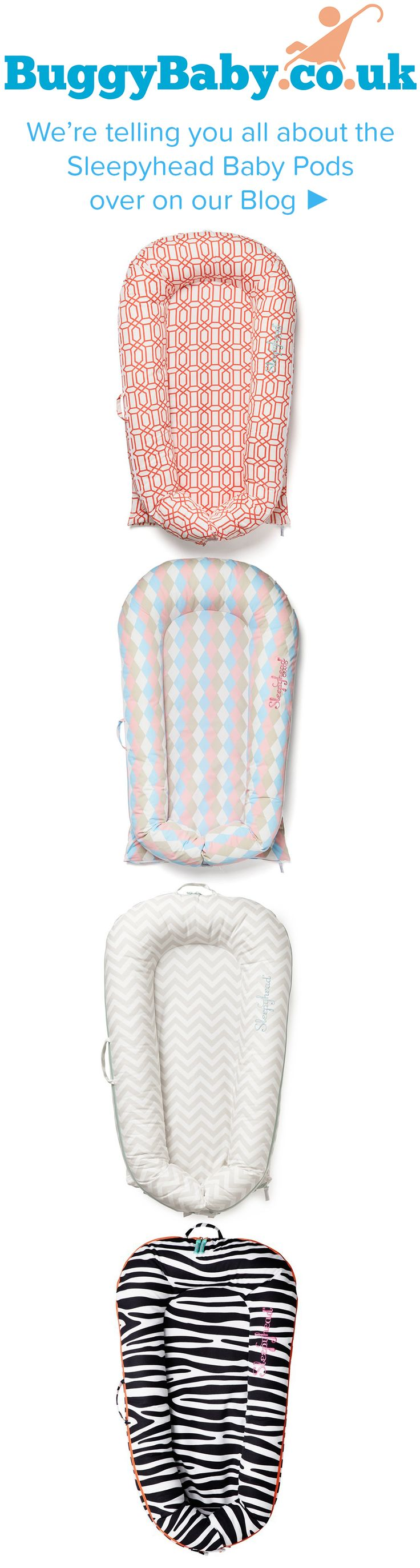 We're so excited to let you know all about the Sleepyhead Baby Pods. They are fast becoming a 'must have' because parents love them! There are two types of pods available; the Sleepyhead Deluxe Baby Pod and the Sleepyhead Grand Baby Pod. They are unique multi-functional pods with the main purpose of being used as a sleep aid by making babies feel secure.