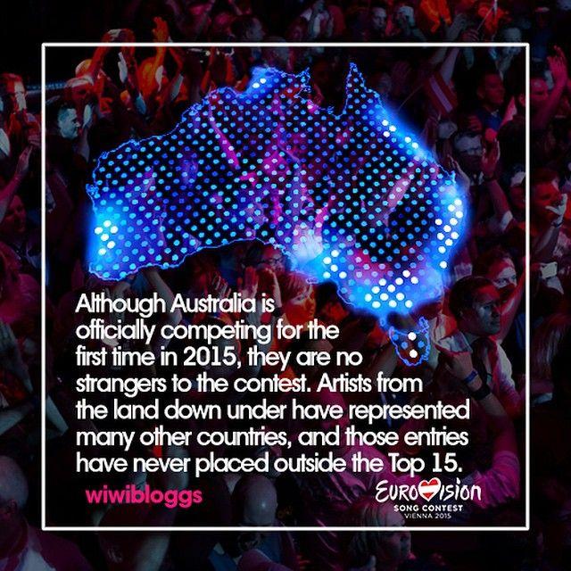 G'day to Australia - debuting at Eurovision May 23 in Vienna! #Australia #eurovision #guysebastian