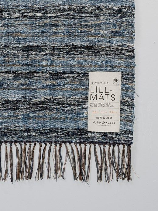 Lill-Mats Recycle Rug Indigo - Nudie Jeans