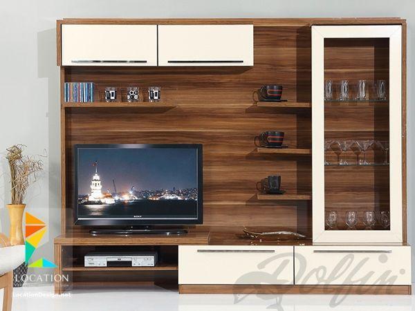 تصميم مكتبات مودرن افكار للتلفزيون المعلق على الحامل في الجدار 2019 Tv Unit Interior Design Tv Wall Unit Tv Wall Decor