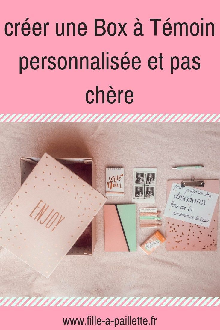 Creer Une Box A Temoin Personnalisee Et Pas Chere Wedding Mariage Demande Temoin Mariage Cadeau Temoin Mariage Idee Mariage Temoin