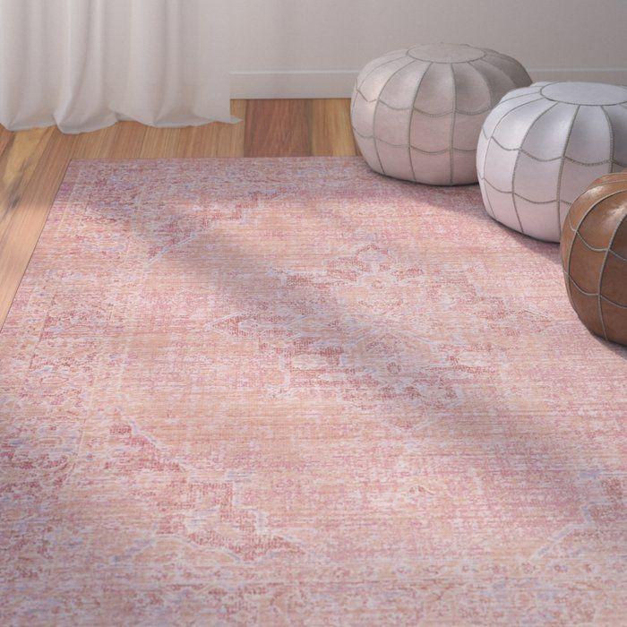 chauncey pink area rug baby pinterest nursery
