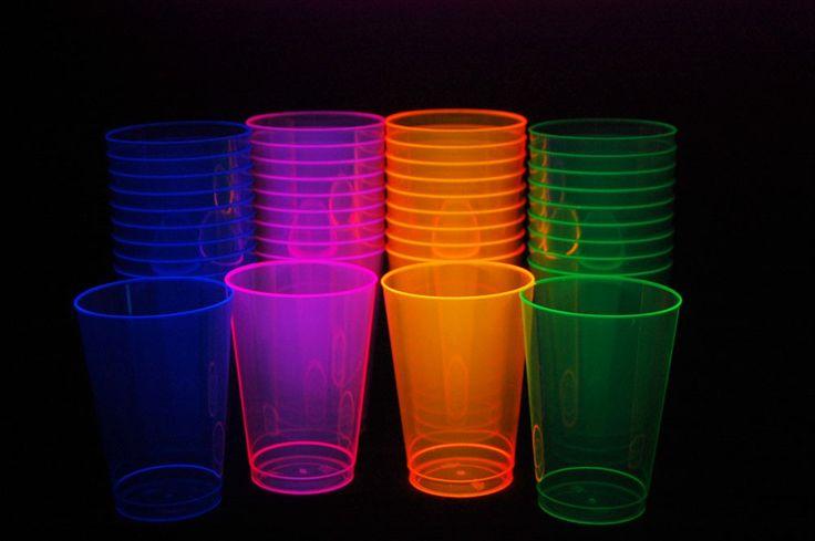 glow in the dark cups - Google Search
