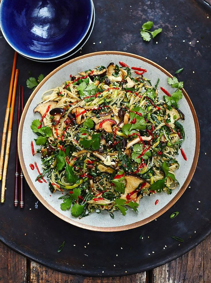 VeganChinese Noodles | Vegetable Recipes | Jamie Oliver Recipes